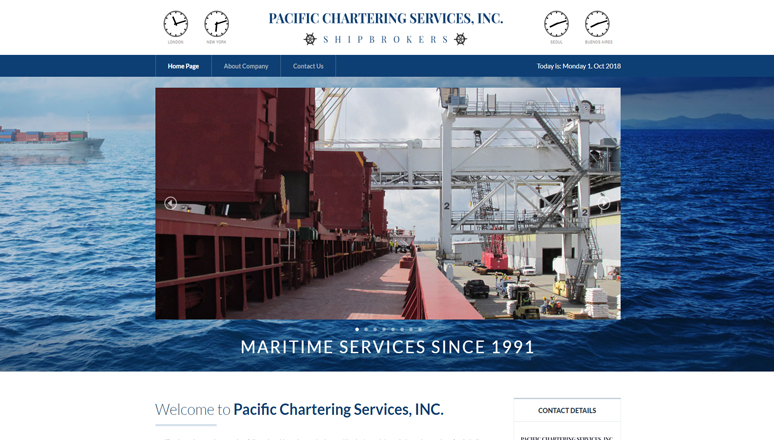 Pacific Chartering Services, INC.