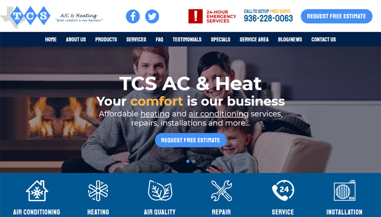 TCS A/C and Heating